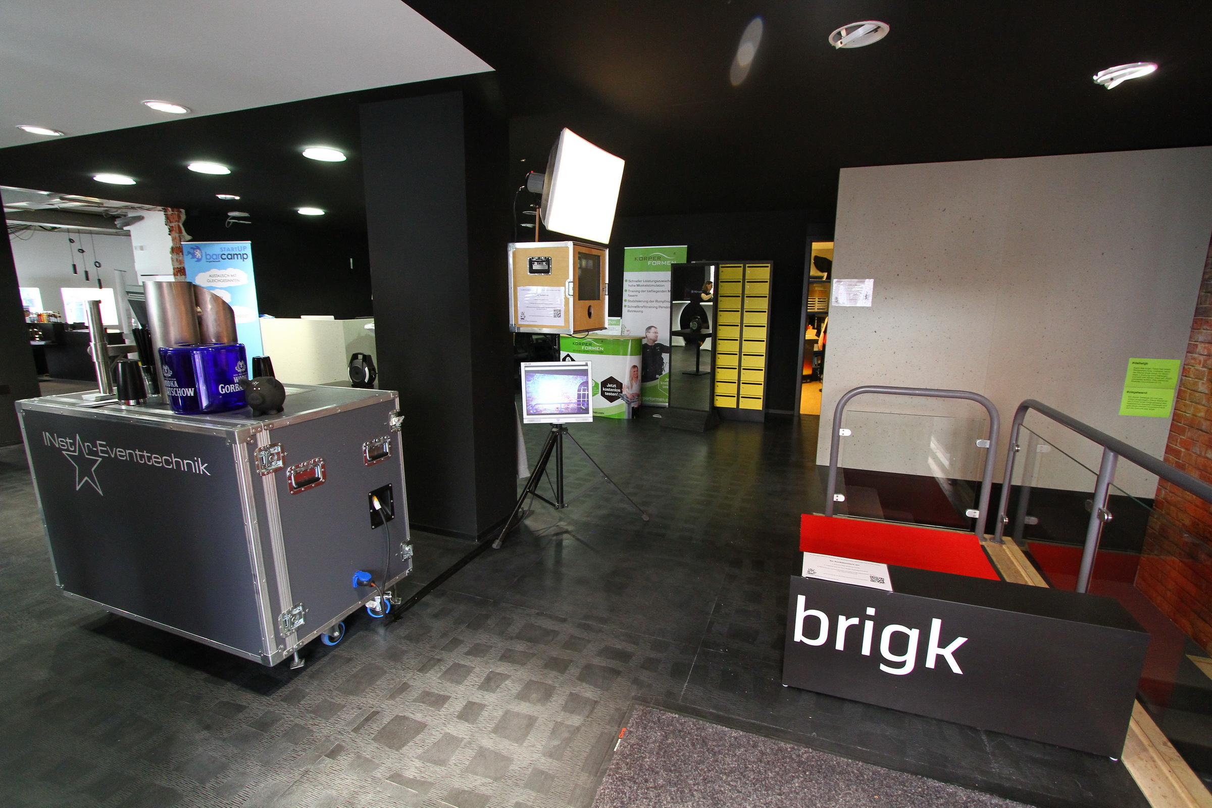 Gründer-Expo im Digitalen Gründerzentrum Ingolstadt 20.04.2018